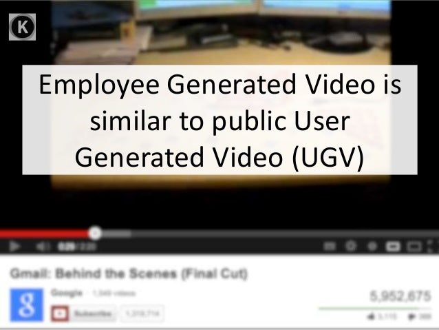 Employee Generated Video for Internal Comms Slide 2
