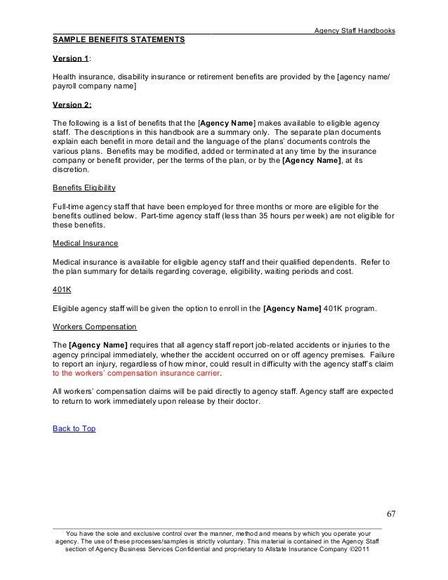 employee handbook sample employee handbook