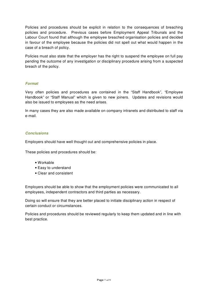 employee handbook rh slideshare net employee policy manual acknowledgement form employee policy manual acknowledgement form