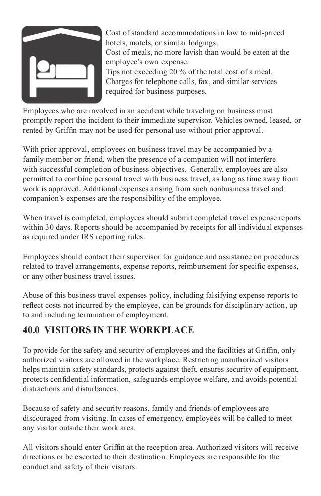 Griffin 2015 Employee Handbook