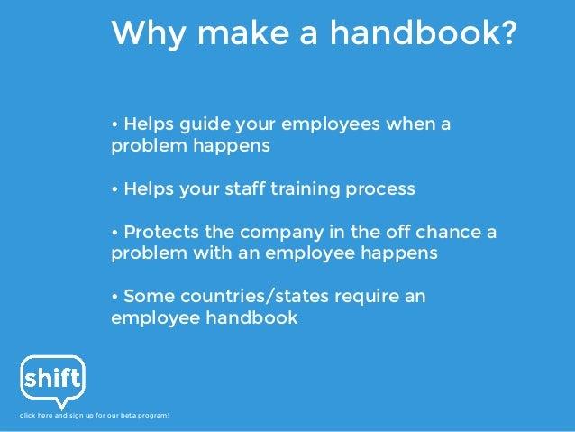 best employee handbook template