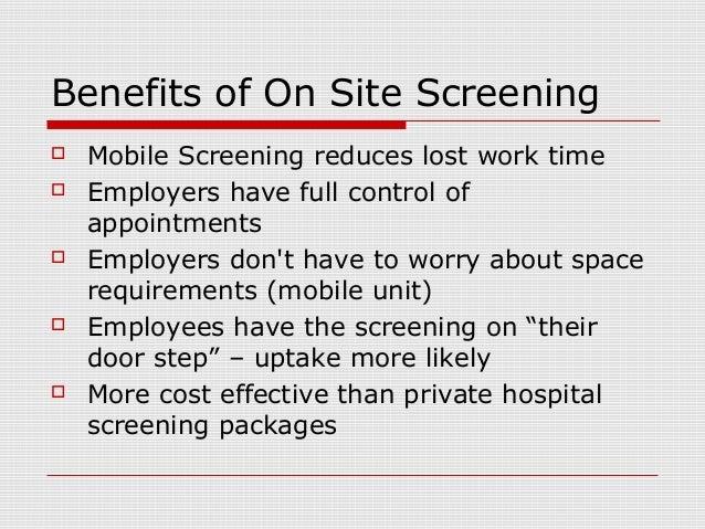 employee health screening companies