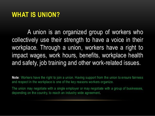 How to register a labor union.