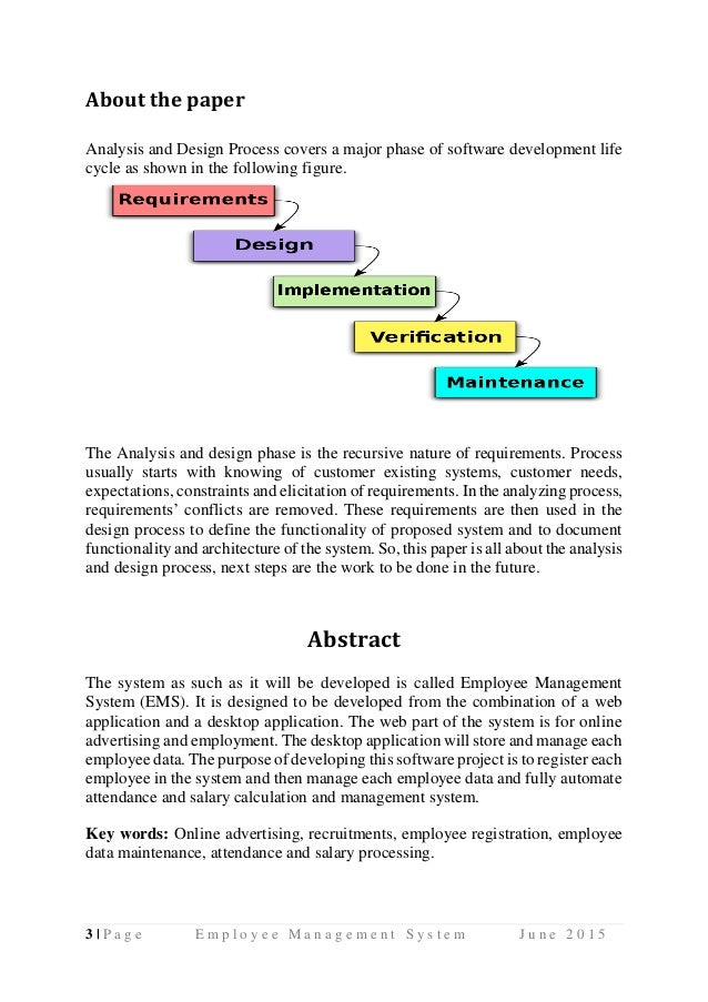 Employee management system uml diagrams use case diagram activity di 18 2lpage employee management system june 2015 4 ccuart Gallery