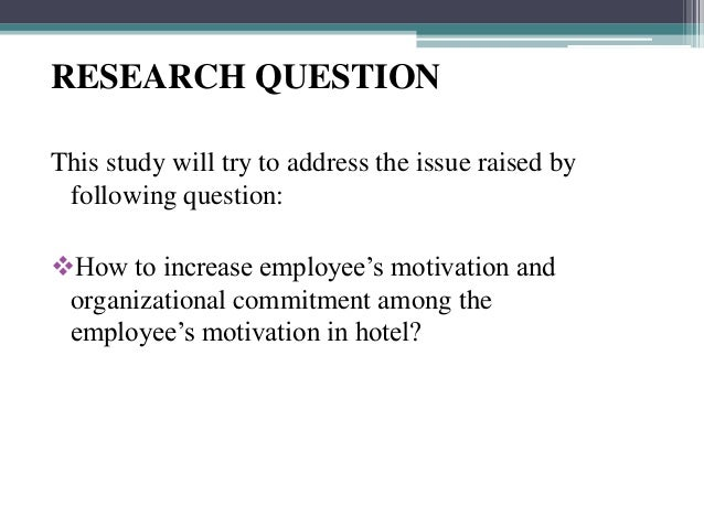 staff motivation research papers This paper covers basic motivational forces and offers suggestions for motivating employees rooted in the classic question of psychology, motivational theory is an important part of a business education for all managers.
