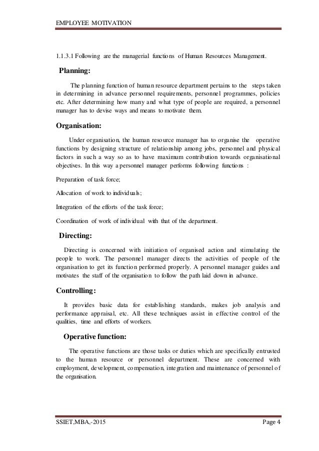 compensation employee motivation research paper Employee motivation this research project is about employee motivation in of extrinsic compensation on intrinsic motivation and.