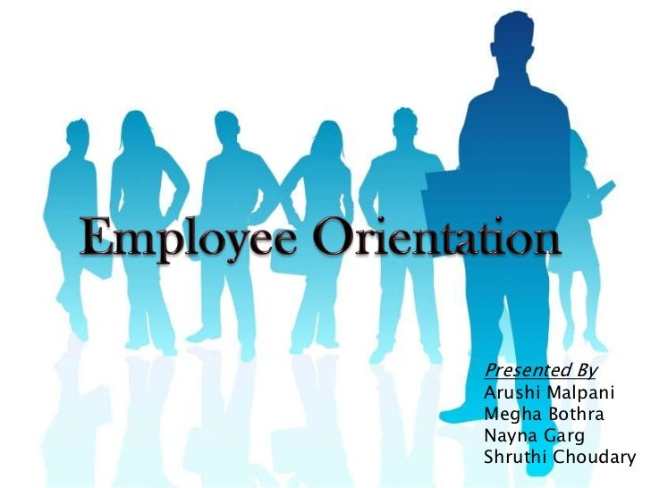 Employee orientation ppt final for Orientation powerpoint presentation template