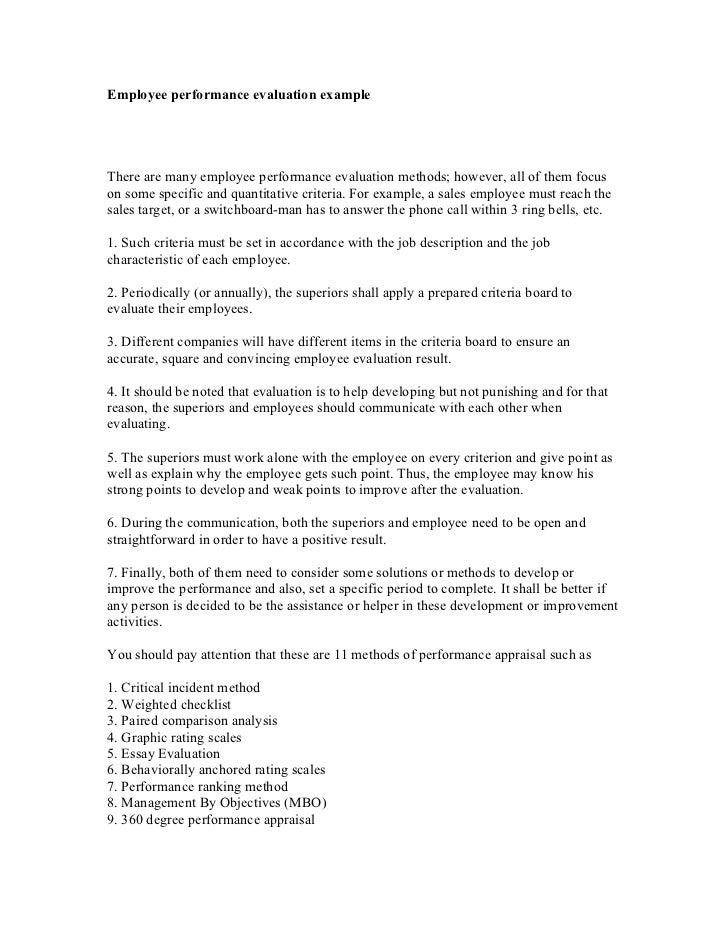 how to write evaluative criteria
