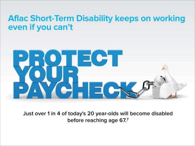 Aflac Short Term Disability Insurance  : Aflac Employee presentation