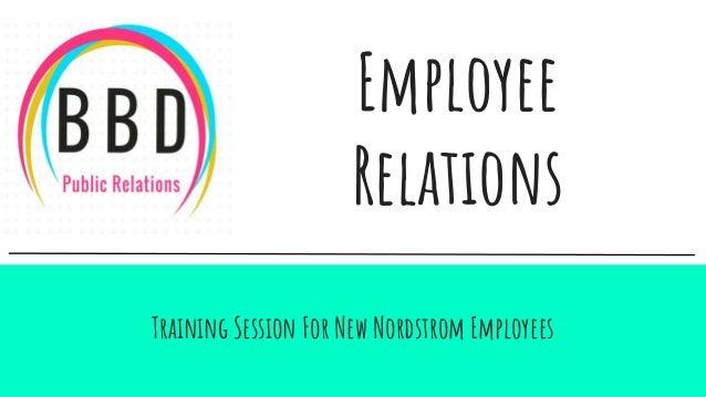 Employee relations (1)