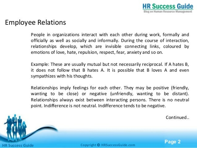 free powerpoint templates page 1hr success guide employee relations 2