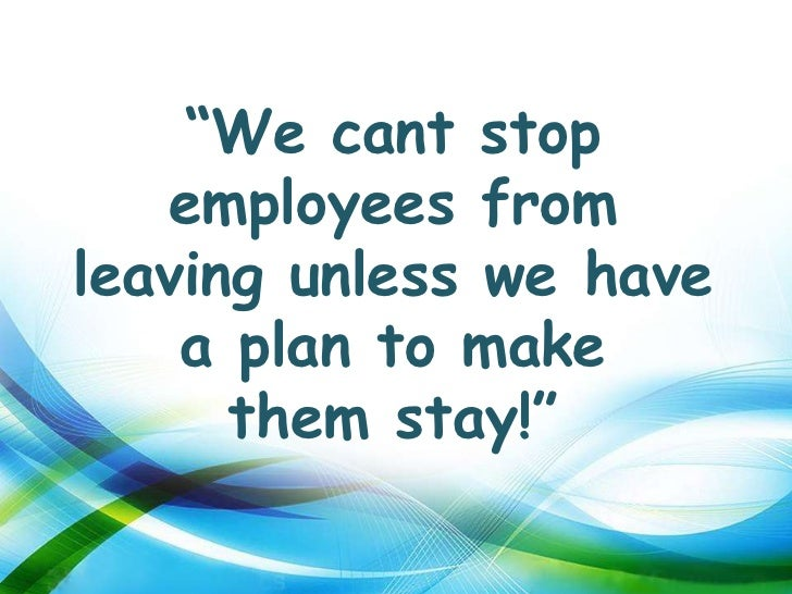 thesis on employee turnover retention