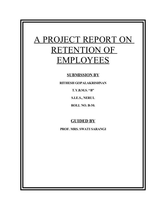 MBA HR Projects