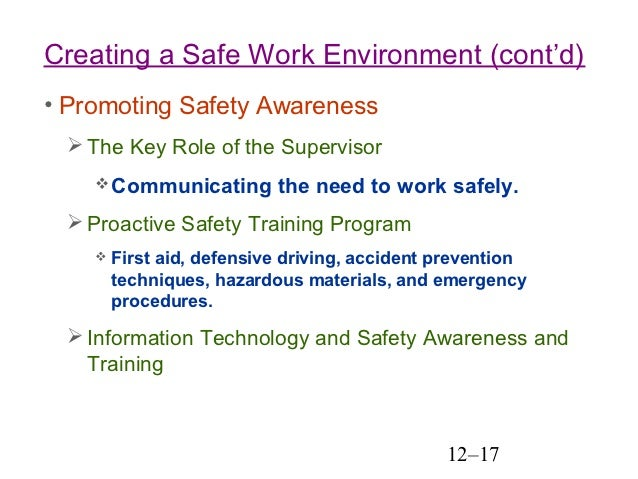 employee safety and health Subtopics disability insurance mine safety & health preparing for h1n1 flu season occupational safety & health nearly every employee in the nation.