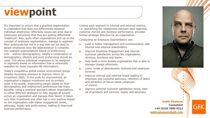 Employee Segmentation Slide 2