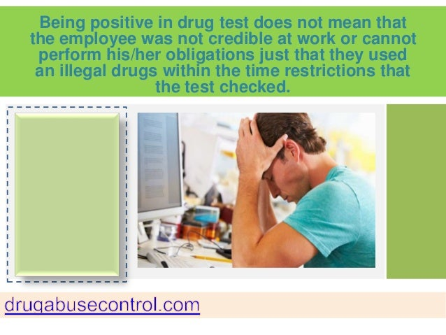 Employees Opinion about Drug Testing in the Workplace Program