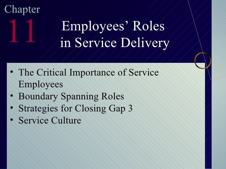 literature review on customer service delivery A review of literature on service strategies for customer satisfaction and   because customers cannot be separated from service delivery .