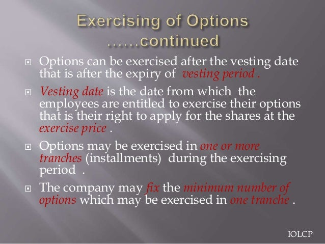 Exercising stock options after leaving company