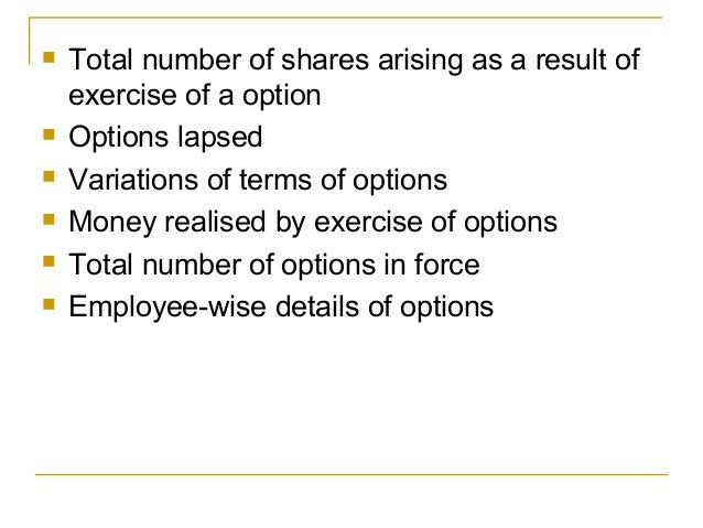 Hca employee stock options