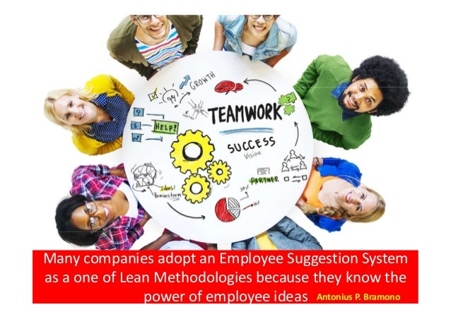 Employee suggestion system