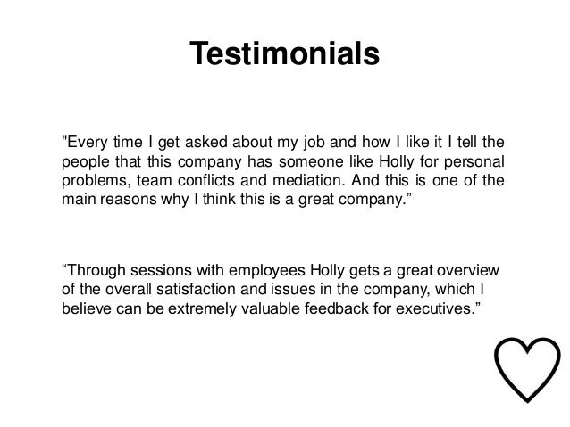 Employee support in house coaching and how it works testimonials altavistaventures Gallery