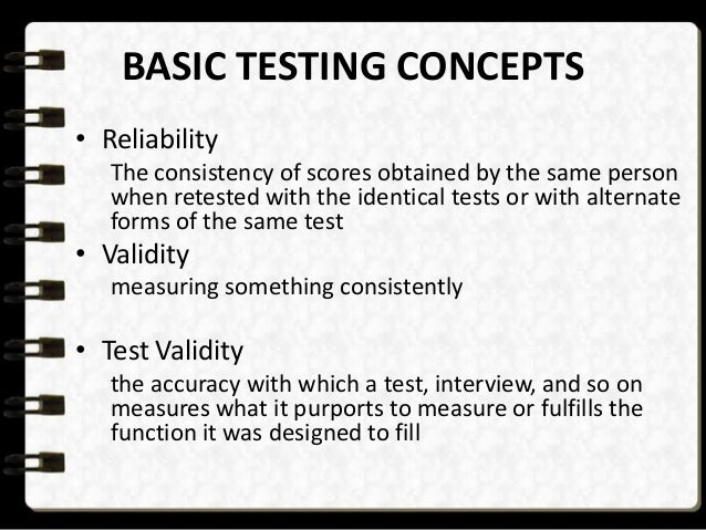 Introduction : Employee testing and selection