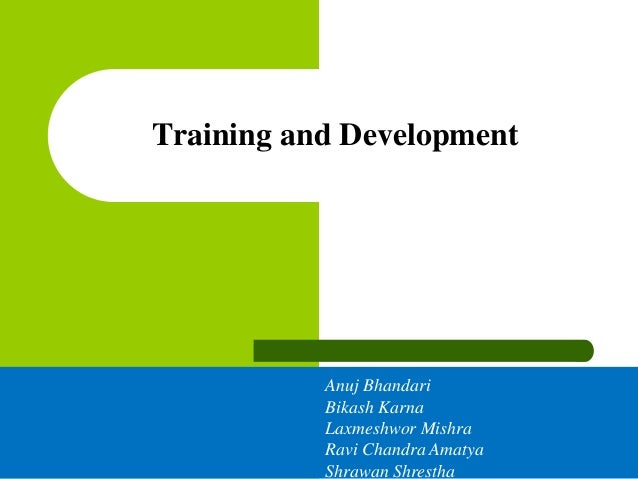 thesis on staff training and development Leaders, delivering on leadership development programs to fill these ranks will be a critical challenge in the next one to three years  organize and staff .