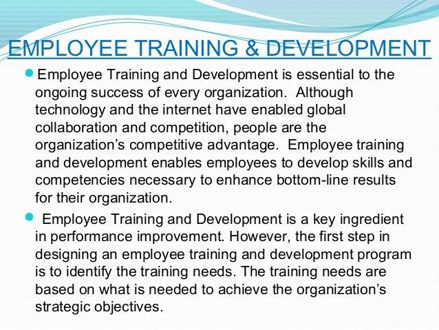 A case study on training development