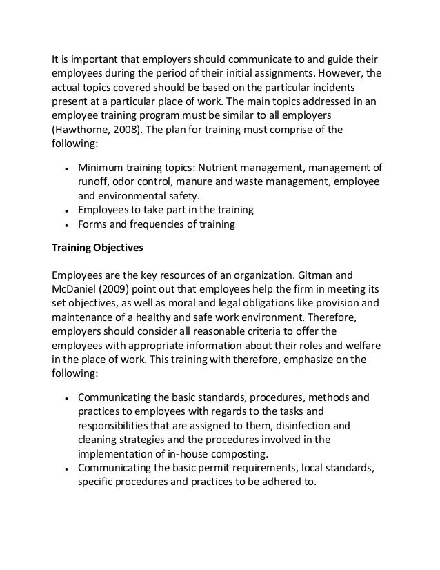 employee development research paper Employee development [your name goes here] [university name goes here] benefits of employee development for the employee and the employer introduction employee development is a kind of strategy that employees and employers adopt to increase employees' knowledge, talents, and expertise in particular areas they work in.