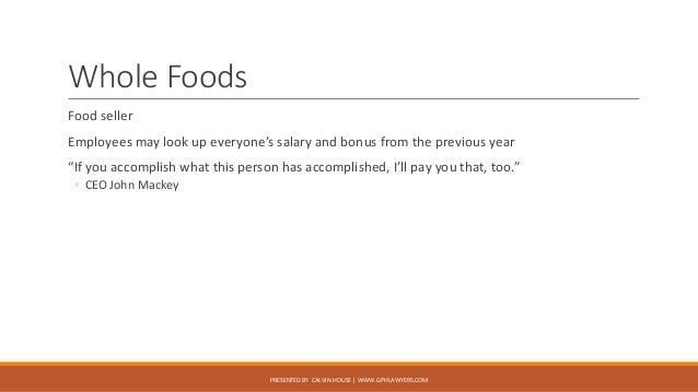 Whole Foods Pay Salary