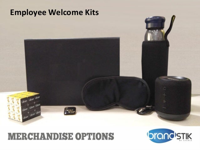 Employee Welcome Kits
