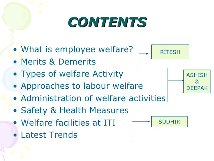 approaches to labour welfare Start studying chapter 22 apush learn vocabulary, terms, and more with flashcards organized labor got a boost during world war i from which government organization why did some employers adopt the approach to labor relations known as welfare capitalism in the 1920s.