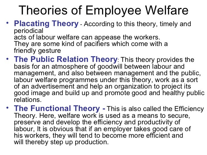 employee welfare § 25103-1 employee welfare benefit plan (a)general (1) the purpose of this section is to clarify the definition of the terms employee welfare benefit plan and welfare plan for purposes of title i of the act and this chapter by identifying certain practices which do not constitute.