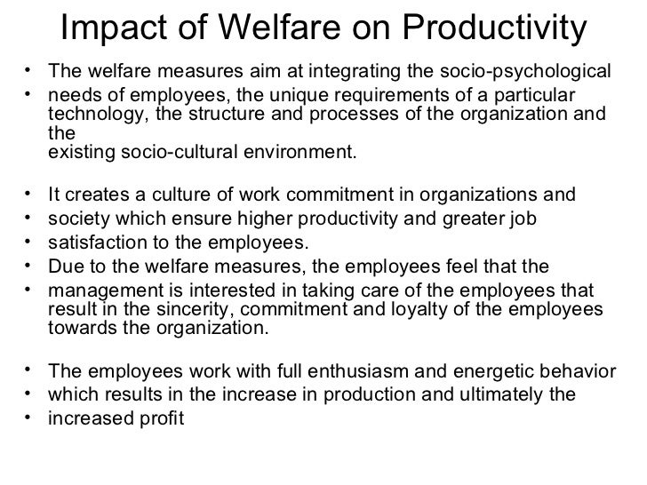 employee welfare and satisfaction Pdf | this study mainly focuses on discussing the impact of welfare facilities on job satisfaction of the non managerial employees in the apparel sector in sri lanka the main objective of this.