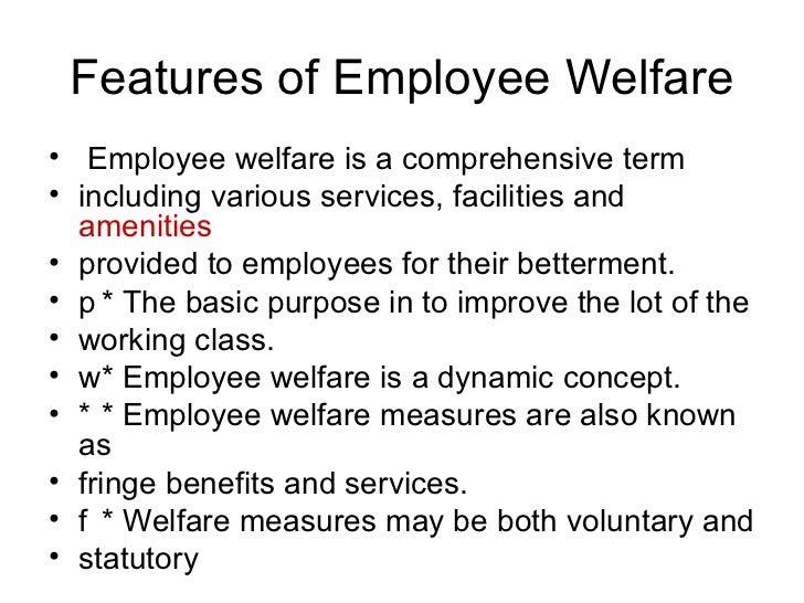 Importance of Employee Welfare