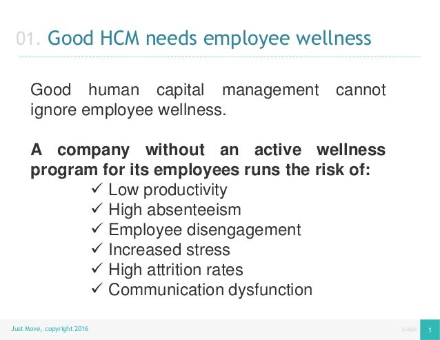 Employee Wellness & Engagement with Just Move Slide 2