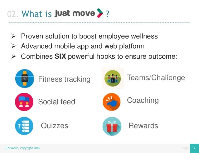 Employee Wellness & Engagement with Just Move Slide 3