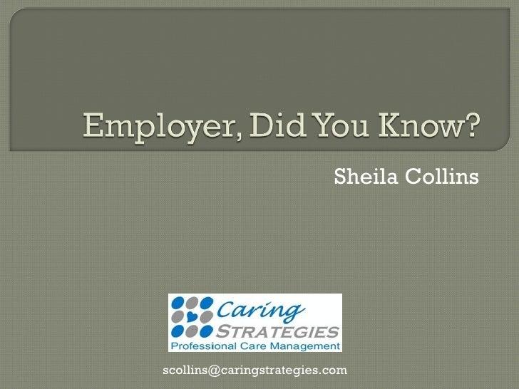 Sheila Collins [email_address]