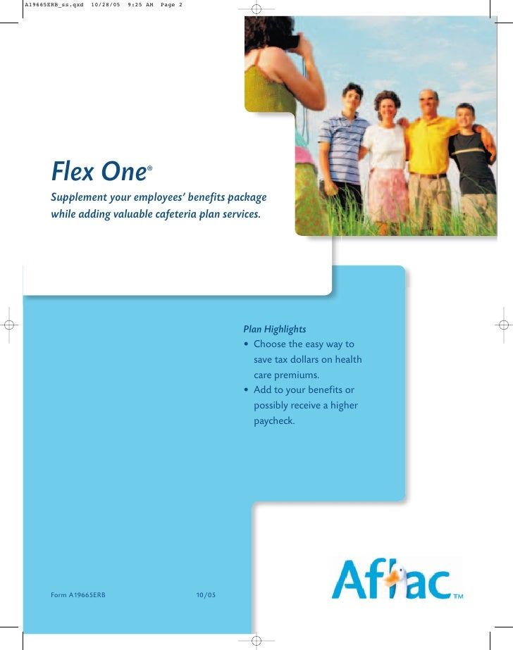 Flex One            ®    Supplement your employees' benefits package while adding valuable cafeteria plan services.       ...