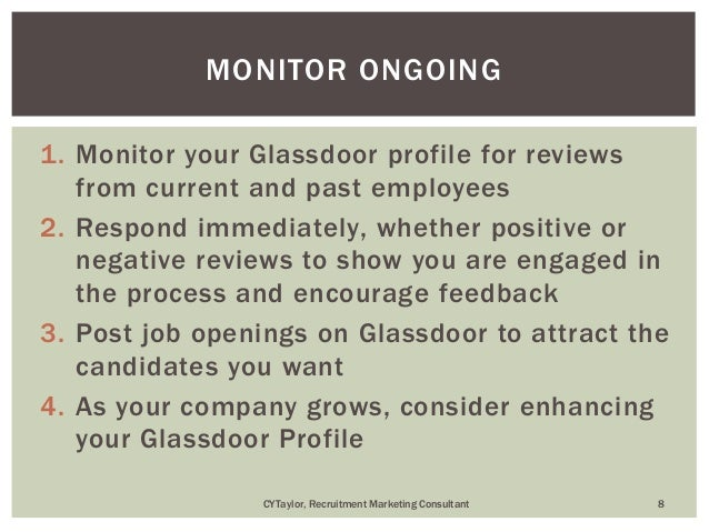 Small Business Employer Brand On Glassdoor