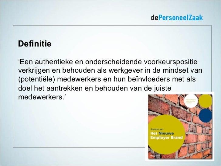 Employer branding = ... Slide 3