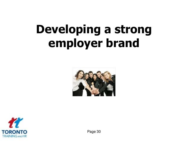 Employer branding, candidate attraction and employer of