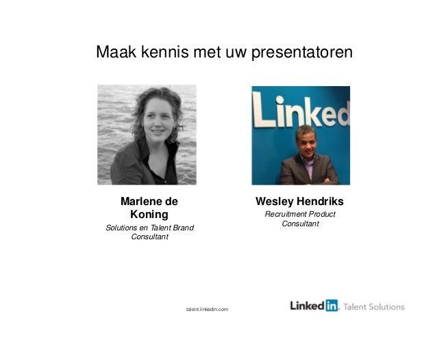 Employer brandwebcastpresentatie 2013_in_5_stappen_naar_een_sterk_werkgeversmerk Slide 2