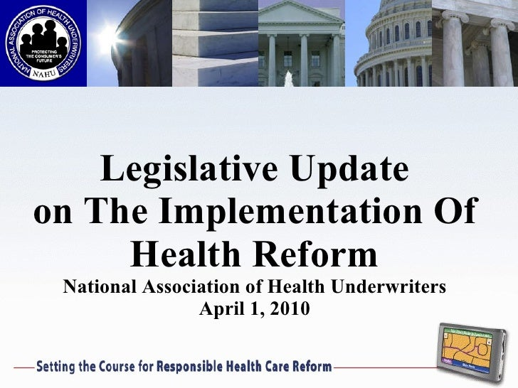 the impact of the health reform [citation needed] few areas of the us health care system were left untouched, making it the most sweeping health care reform since the enactment of medicare and medicaid in 1965 he concluded that the reform's only significant employment impact was a reduction in the labor force.