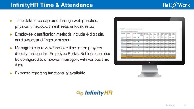 Sage HRMS & InfinityHR - HR Technology Solutions Overview