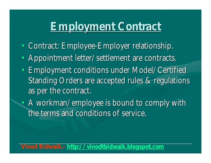 The employment contract in Bulgaria