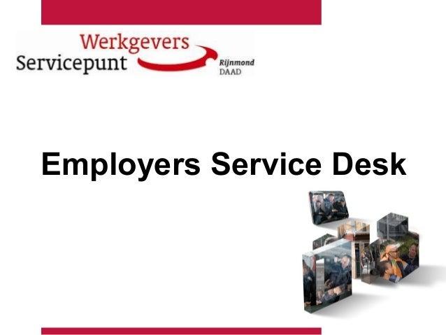 Employers Service Desk