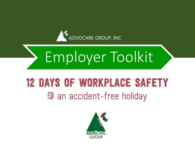 ADVOCARE GROUP, INC  Employer Toolkit