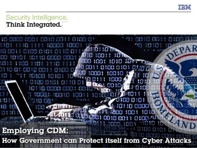© 2014 IBM Corporation IBM Security 0© 2014 IBM Corporation IBM Support to Continuous Diagnostics & Mitigation