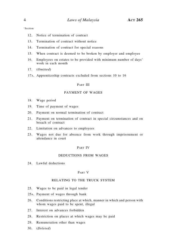Employment Act 1955 Pdf